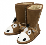 Toasty Toez Unisex Horse Slipper Boots for Children
